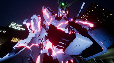 Gundam Unicorn VR at Shinjuku VR Zone