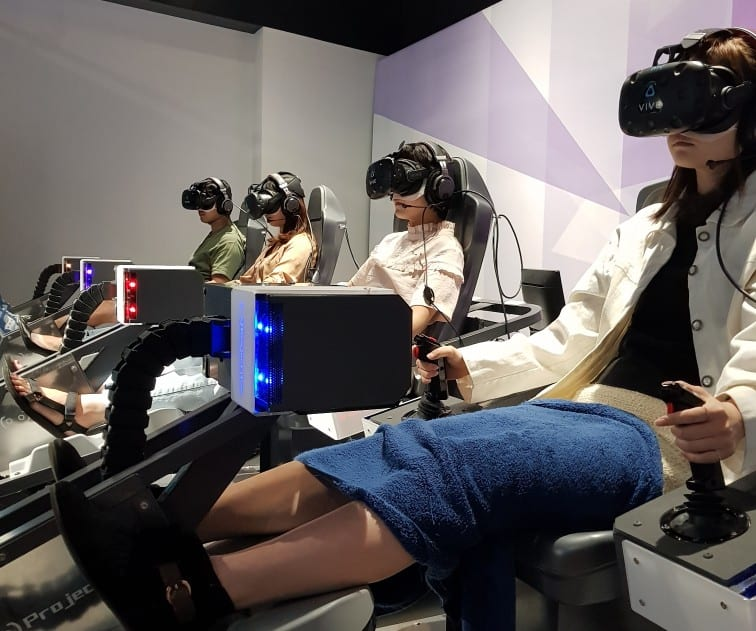 Evangelion VR at Shinjuku VR Zone