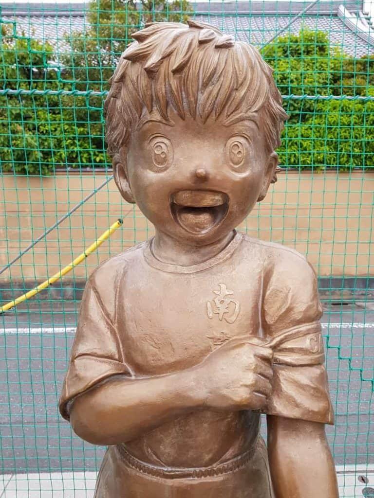 Bronze statue: Ozora Tsubasa