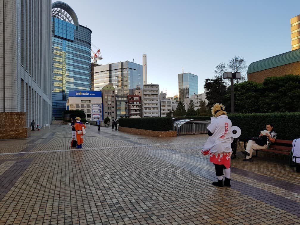 Cosplay of 4th Hokage in Otome Road