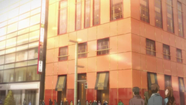 Parlour Shiseido cafe in Tokyo, SAO Anime Pilgrimage