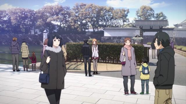 Kirito & Asuna dating at Imperial Palace Tokyo