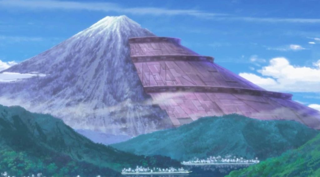 Mount Fuji Code Geass