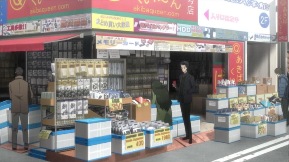 Hiyajo_Okarin_buying_at_Akihabara