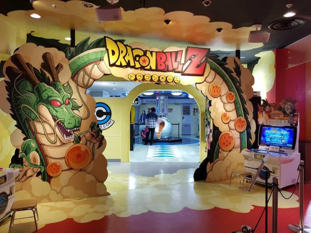 Dragon Ball zone at J-World