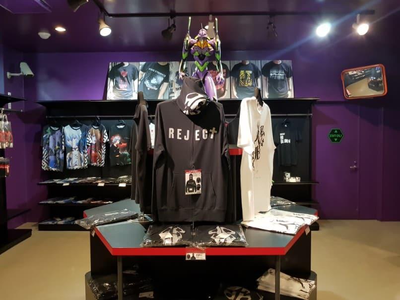 Evangelion T-Shirts at FujiQ Evangelion Store