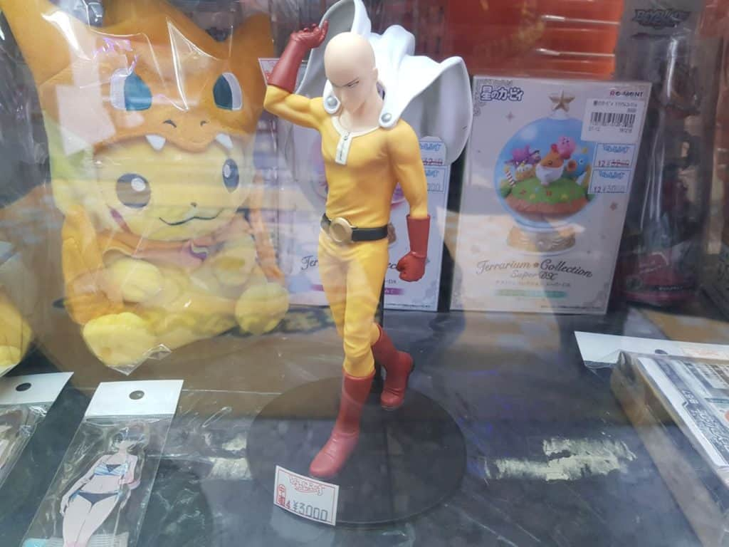 One Punch Man: Saitama's figure