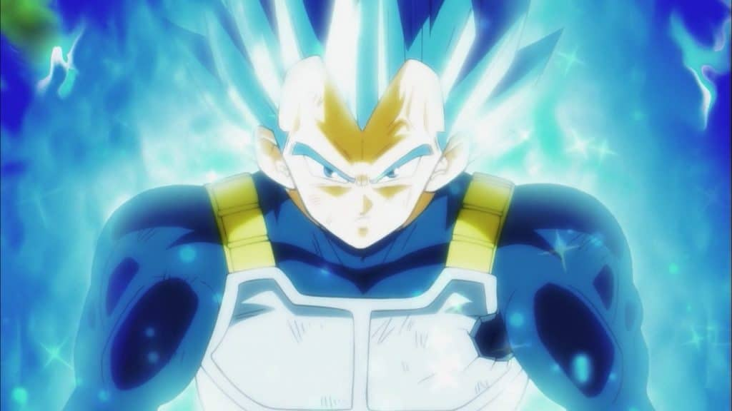 Vegeta Super Saiya-jin Blue evolution