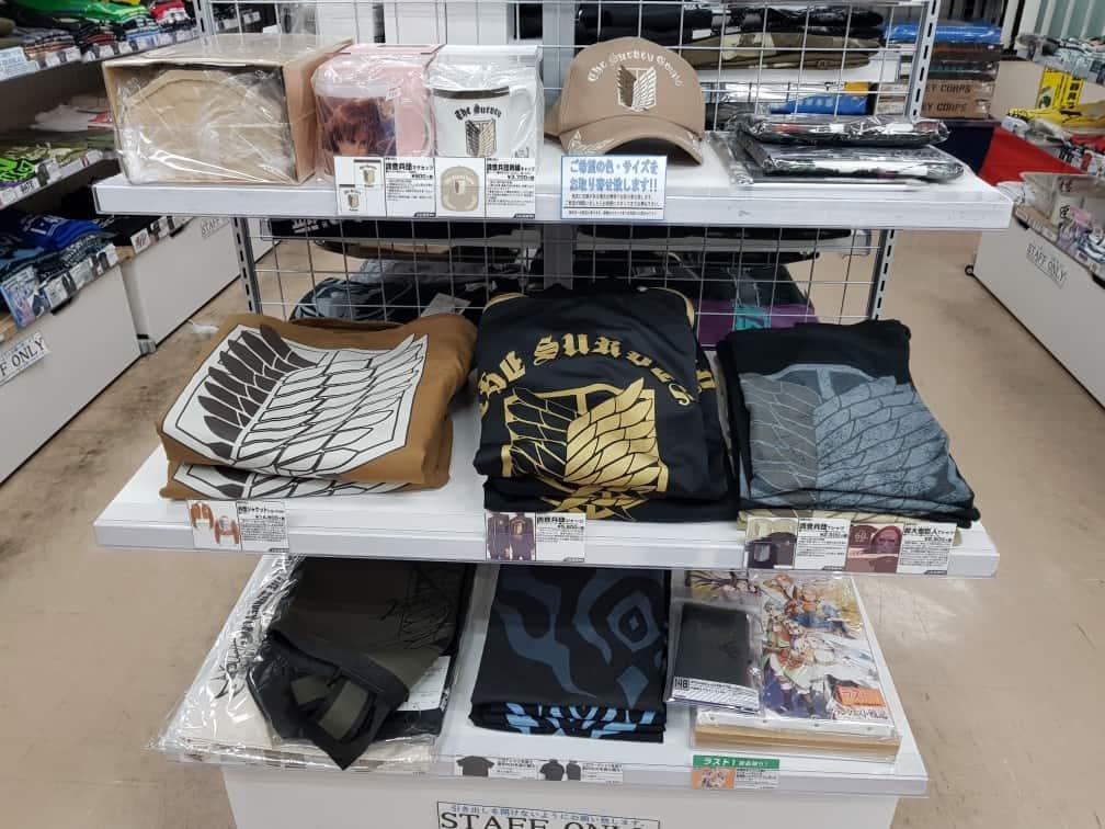 Shingeki no Kyojin T-Shirt in Tokyo
